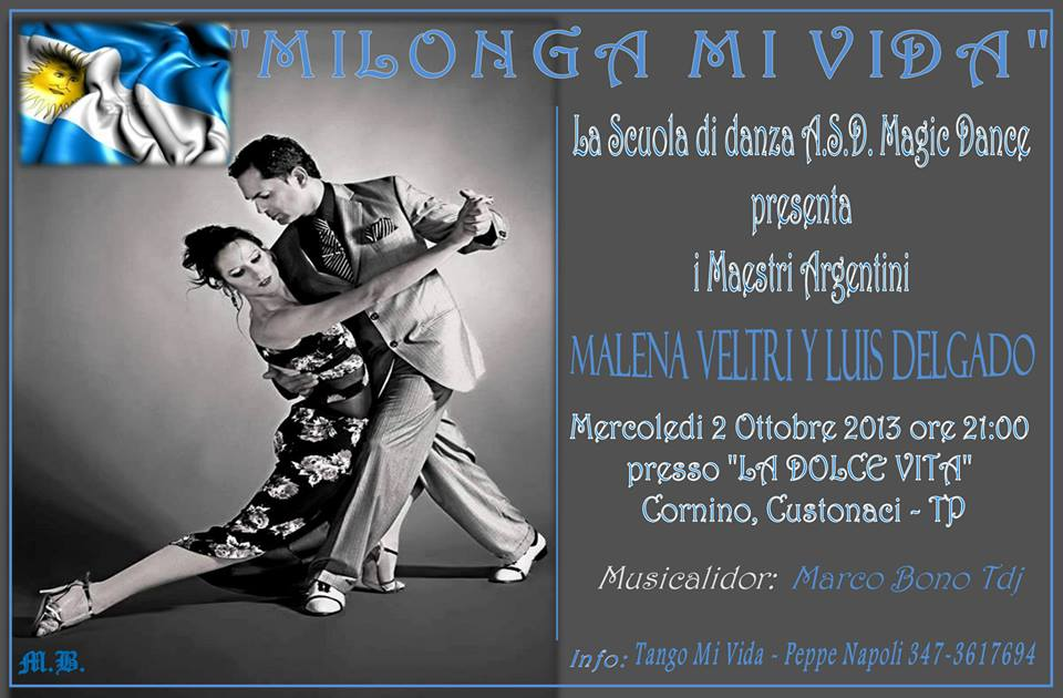 Esibizione tango Trapani
